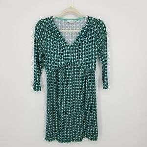 Boden Jersey Knit printed Dress Sz 8